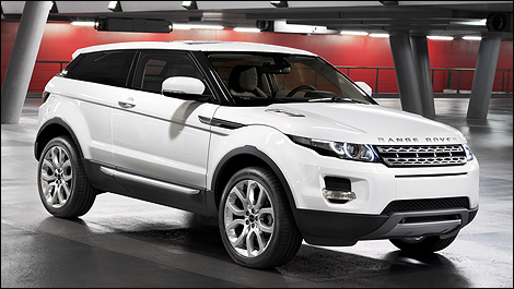 les prix canadiens du range rover evoque 2012 d voil s nouvelles auto123. Black Bedroom Furniture Sets. Home Design Ideas