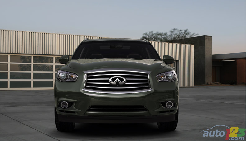 Infiniti JX Concept debuts at Pebble Beach