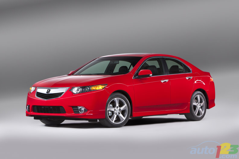 2012 Acura TSX Special Edition boasts sportier looks