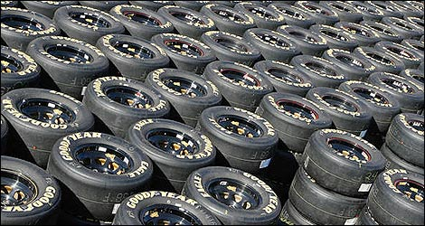 Goodyear to Transform Eagle NASCAR Racing Tires to Support Troops