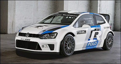 wrc volkswagen pr sente sa polo r wrc photos. Black Bedroom Furniture Sets. Home Design Ideas