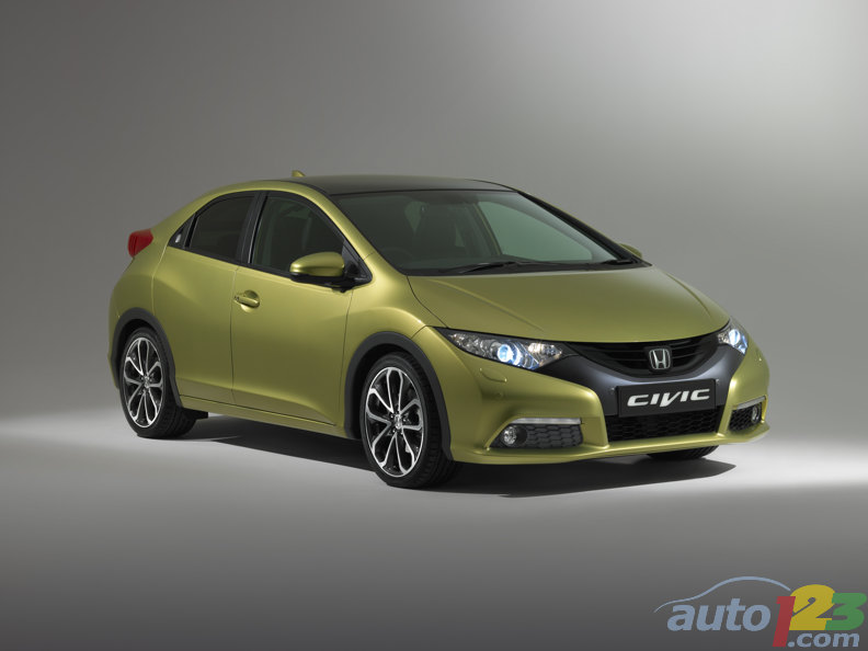 Frankfurt 2011: 2012 Civic Hatch debuts