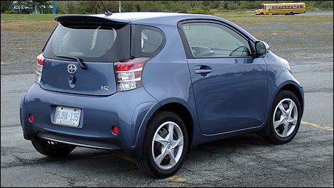 2012 Scion iQ 3/4 rear