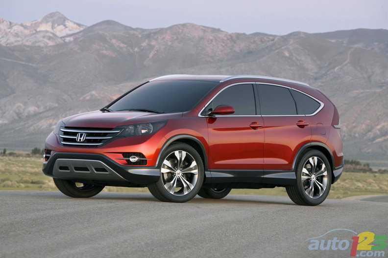 Honda teases with shots of all-new 2012 CR-V