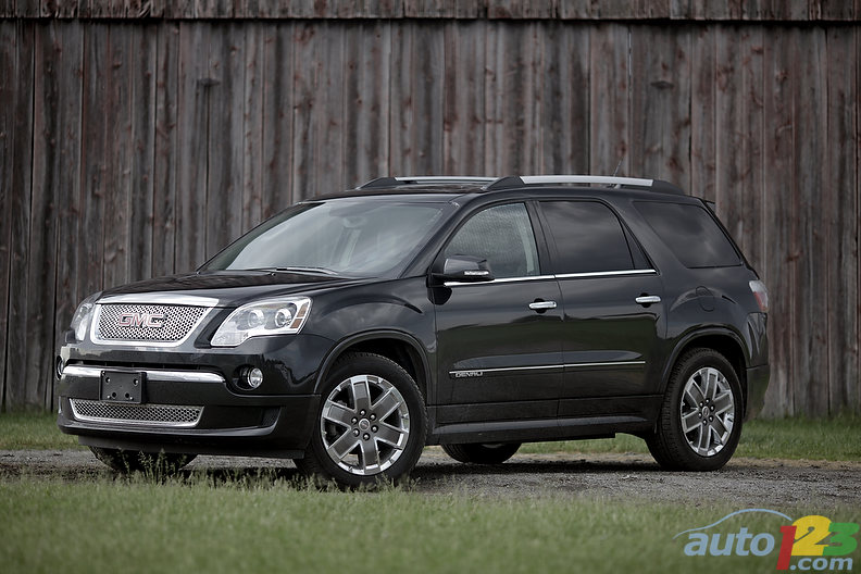 GMC Acadia Denali review - 2011 SUV comparison test