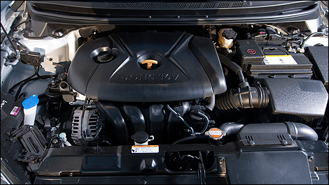2012 Hyundai Elantra engine