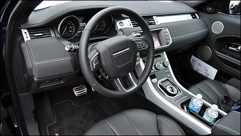 2012 Range Rover Evoque interior