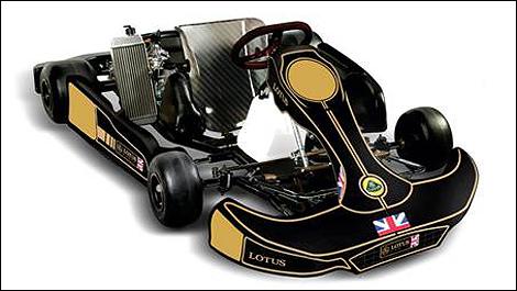 Championship Auto Racing Team on Karting Lotus Jefra Racing