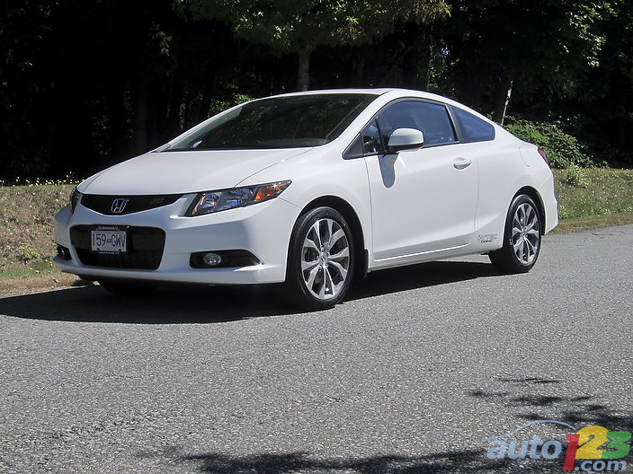 2012 Honda Civic Coupe Si Review