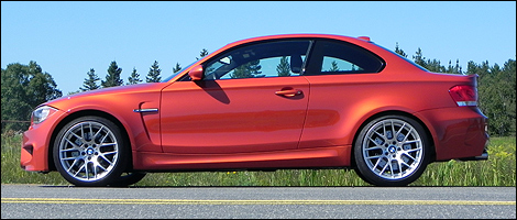 2011 BMW 1M Coup� left side view