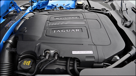 2012 Jaguar XKR-S engine