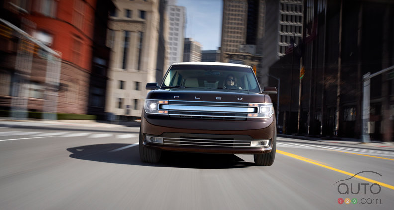 Le Ford Flex 2013 s'arrondit