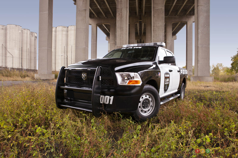 The ultimate Chrysler truck for emergency crews