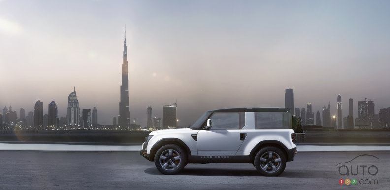 Land Rover DC100 Concept keeps evolving