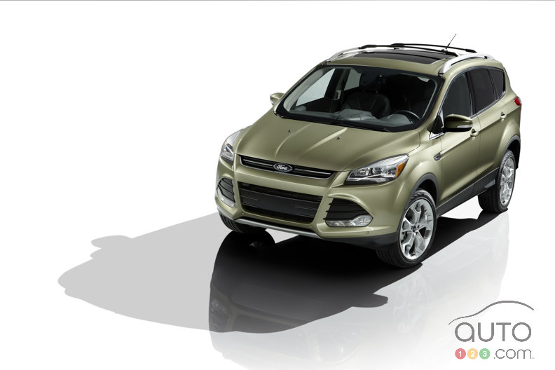 Los Angeles 2011: All-new 2013 Ford Escape introduced