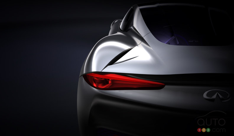 Infiniti getting charged up over new sports car concept