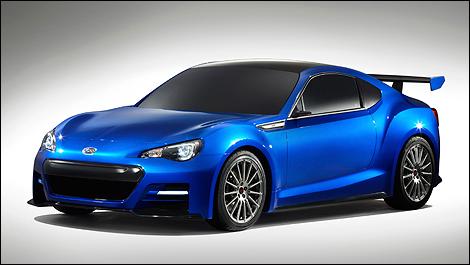 Subaru BRZ Concept - STI -