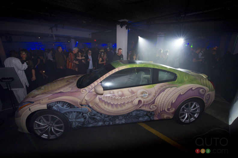 Infiniti Canada's G37 art car raises $55,000 for ONE DROP
