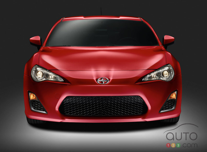 The 2013 Scion FR-S available next spring