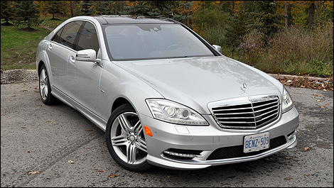 2012 Mercedes-Benz S 350 BlueTEC 4MATIC front 3/4 view