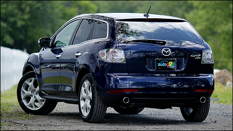 2011 mazda cx 7 gt awd review video. Black Bedroom Furniture Sets. Home Design Ideas