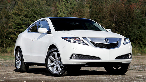 Acura  on Acura Zdx Sh Awd Tech 2011   Essai Routier  Vid  O