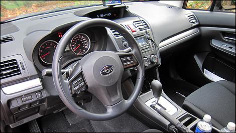 Subaru Impreza 2012 interior