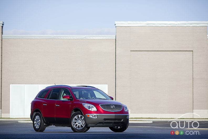 2012 buick enclave cxl awd review photo gallery. Black Bedroom Furniture Sets. Home Design Ideas