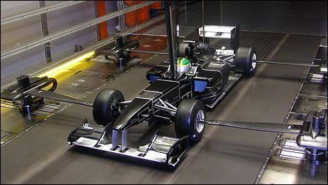 F1 Technique Les Maquettes Employ 233 Es En Soufflerie