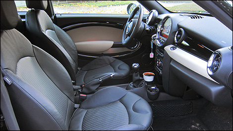 2012 MINI Cooper S Coupé interior