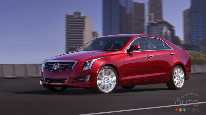 2013 Cadillac ATS launched in Detroit