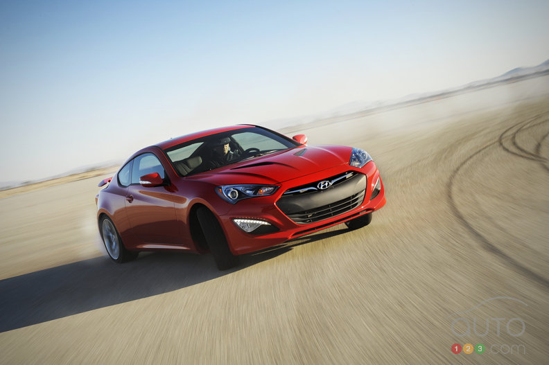 Hyundai reveals redesigned 2013 Genesis Coupe