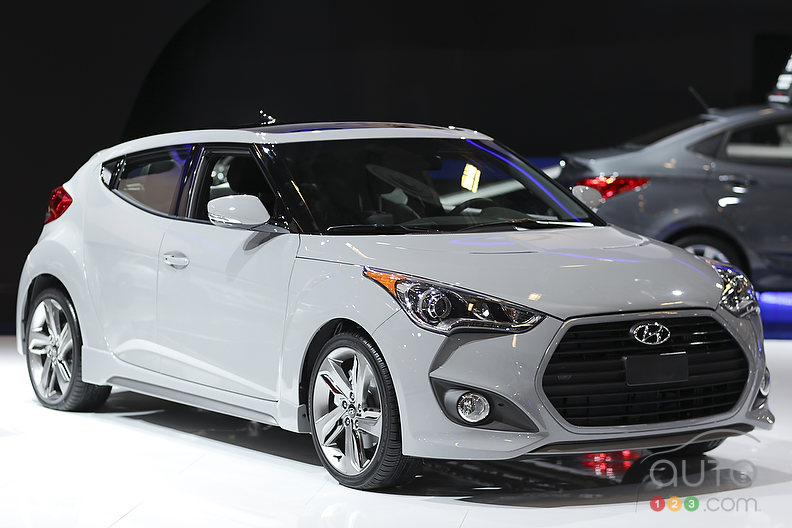 VIDEO: 2013 Hyundai Veloster Turbo (interview with Chad Heard) at the Montreal Auto Show