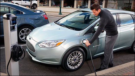 2012 Ford Focus electric recharge