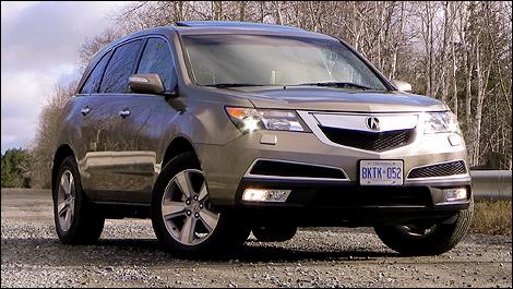 2012 Acura  on Essai Routier   Acura Mdx Sh Awd 2012   Essai Routier   Auto123 Com