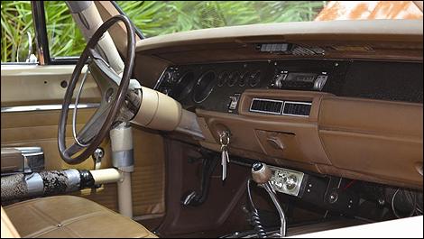 1969 Dodge Charger General Lee interior