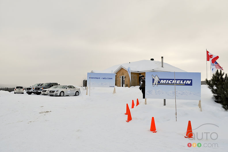 Test de pneus d'hiver�: Michelin X-Ice 3