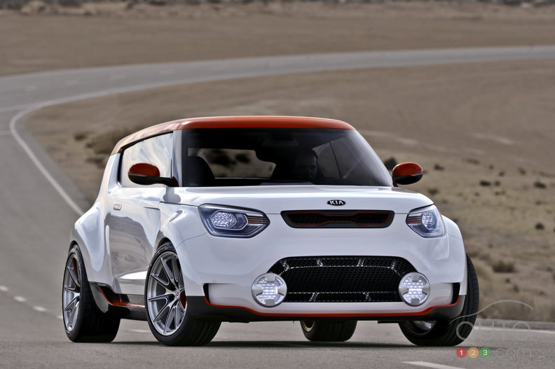 Kia turns heads with Track'ster concept at Chicago Auto Show