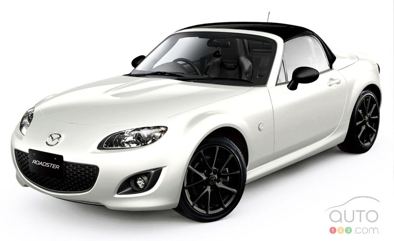 A new Mazda 2012 MX-5 Miata Special Edition is coming soon