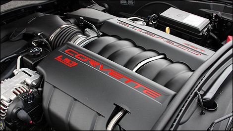 2012 Chevrolet Corvette Grand Sport Cabriolet engine