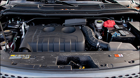 2012 Ford Explorer Limited EcoBoost engine