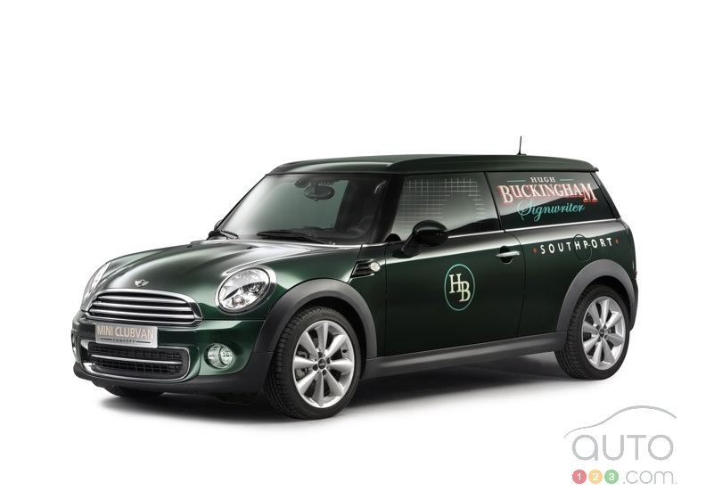 MINI uncovers the Clubvan Concept ahead of Geneva