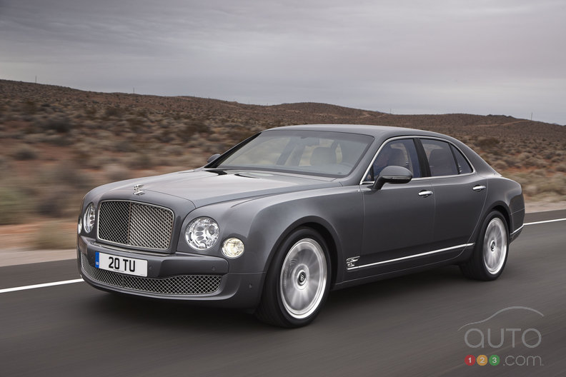 Bentley Mulsanne Mulliner Driving Specification to be revealed in Geneva