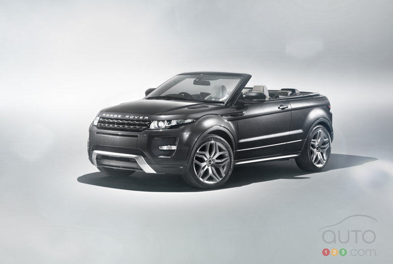 Range Rover Evoque Convertible Concept to be revealed at Geneva Auto Show
