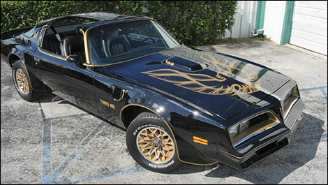 Pontiac Trans Am Smokey and the Bandit
