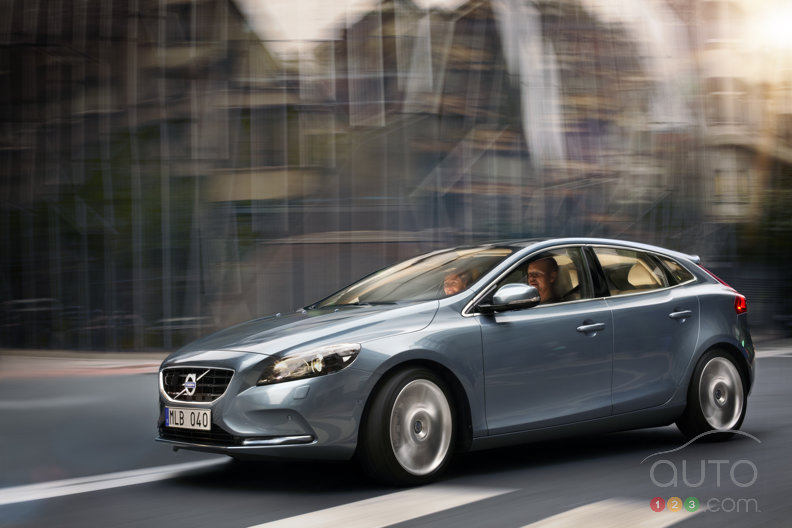 The all-new Volvo V40 to be revealed at the Geneva Motor Show