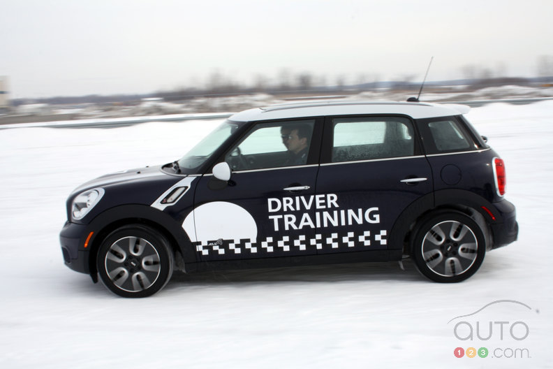 MINI's 2012 Winter Driving Course