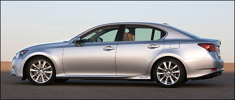 2013 Lexus GS 450h left side view