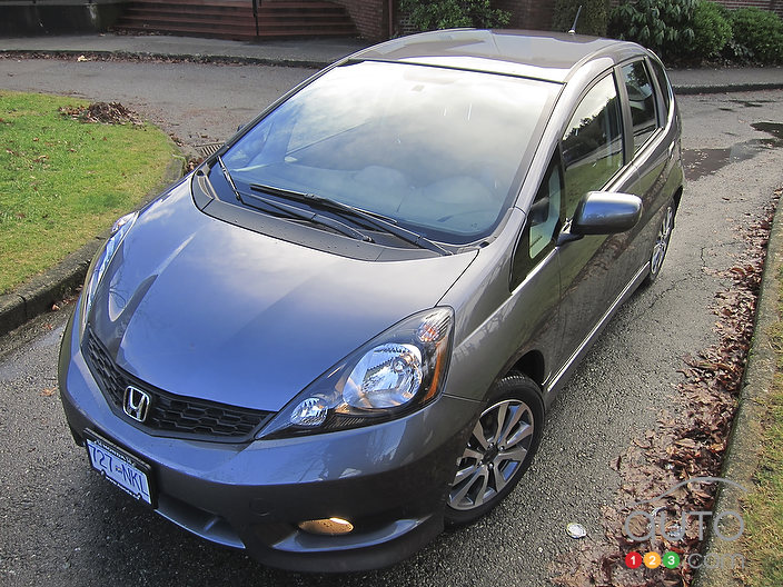 2012 Honda Fit Sport Review