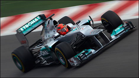 Mercedes F1 W03 Michael Schumacher